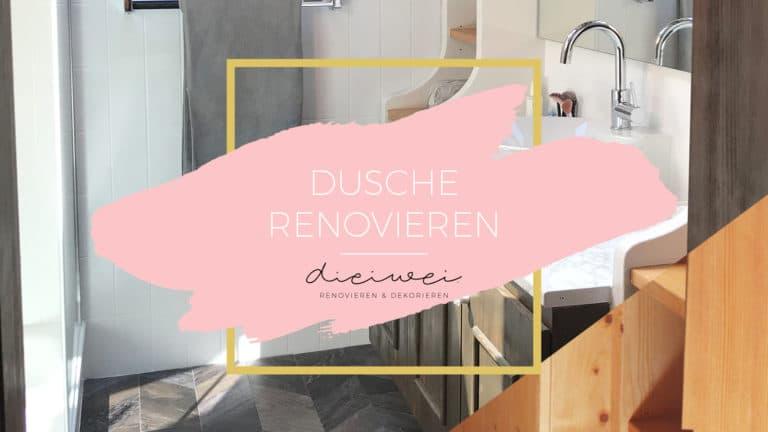 Dusche renovieren Titelbild